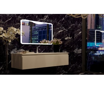 Bath Mirror LED 1200x25x700