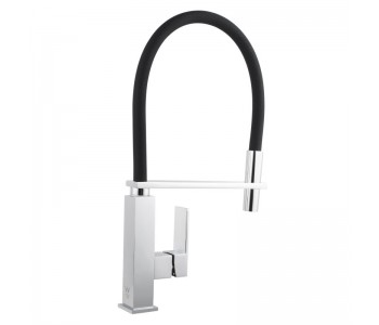 Black Kitchen Sink Mixer Tap