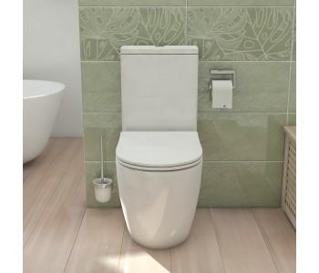 ALEXANDER-R RIMLESS NANO-GLAZE Toilet Suite